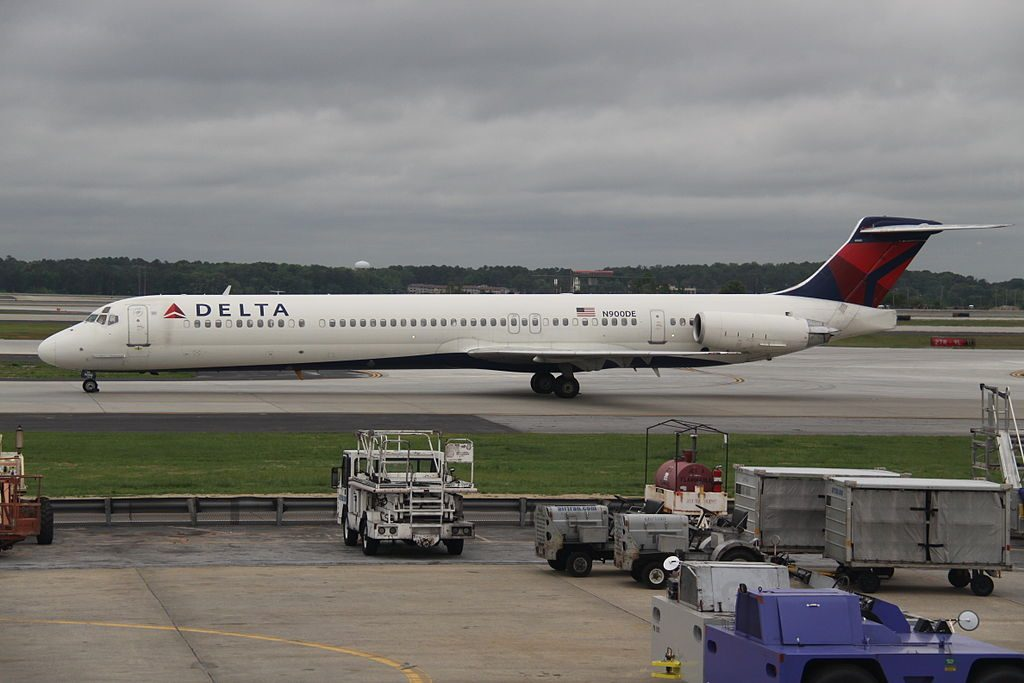 McDonnell Douglas MD-88 N900DE of Delta Air Lines at Hartsfield-Jackson Atlanta International Airport