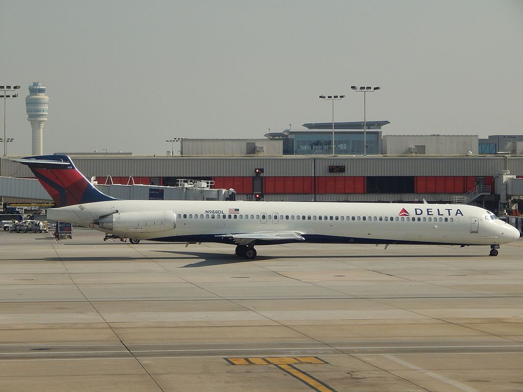 McDonnell Douglas MD-88 N988DL of Delta Air Lines at Hartsfield-Jackson Atlanta International Airport