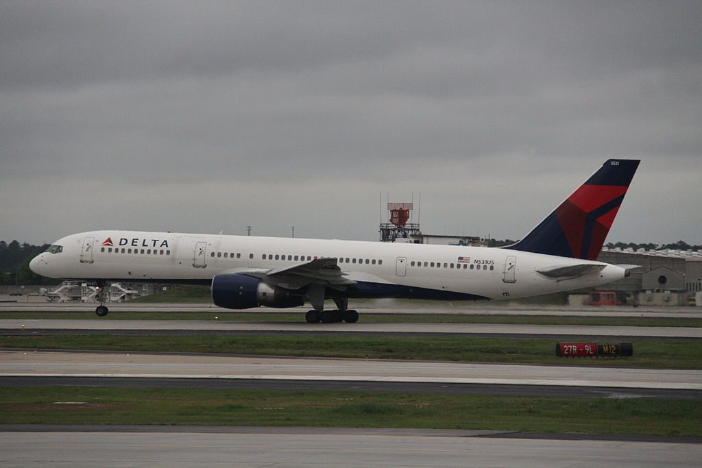 N531US Delta Air Lines Boeing 757-200 At Hartsfield-Jackson Atlanta International