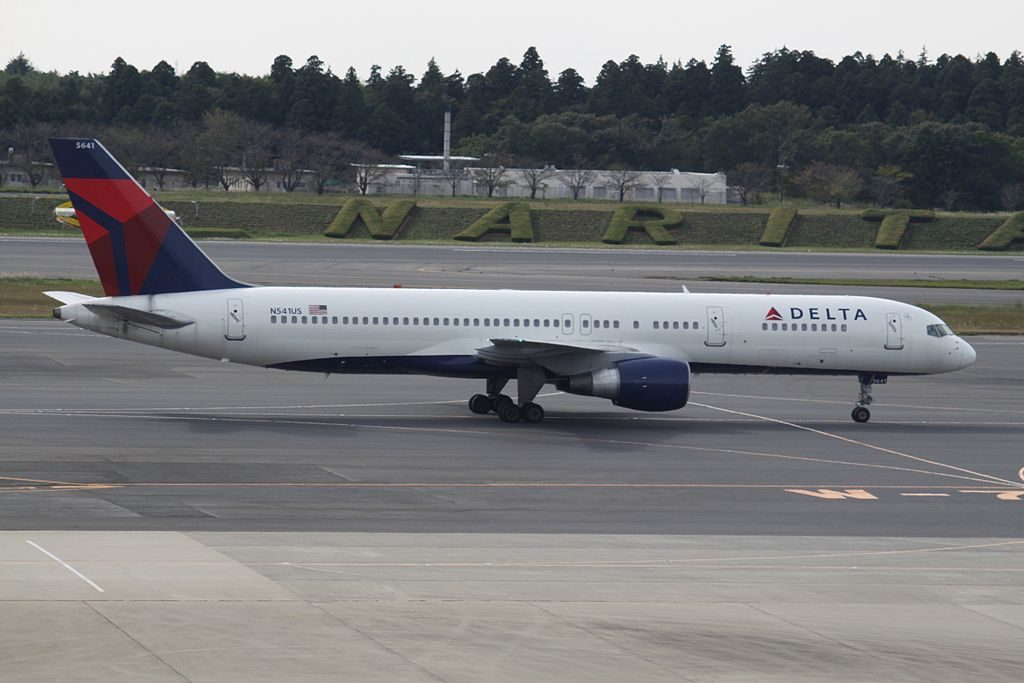 N541US Boeing 757-200 Delta Air Lines Fleet at Tokyo Narita International Airport