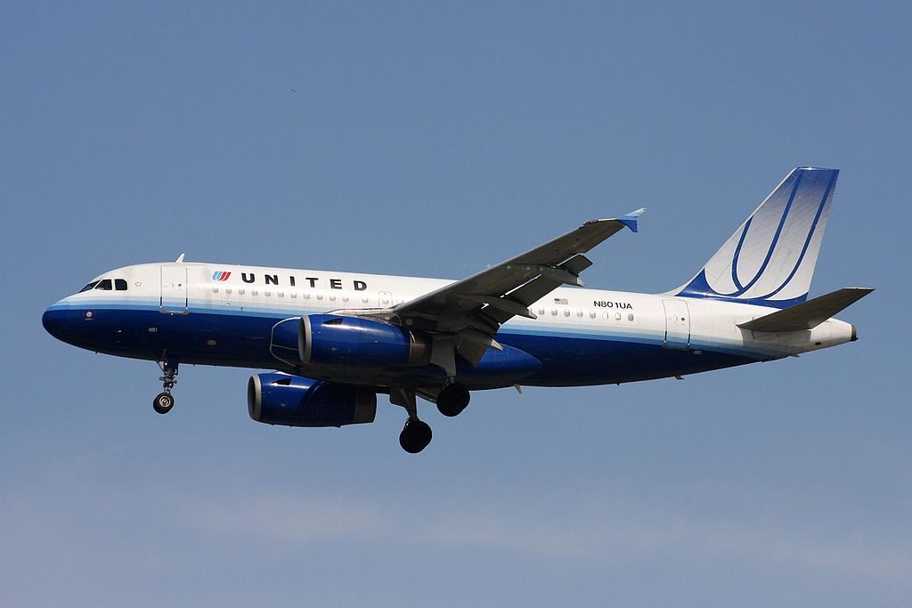 N801UA Airbus A319-131 United Airlines Fleet at YVR Vancouver International Airport Canada