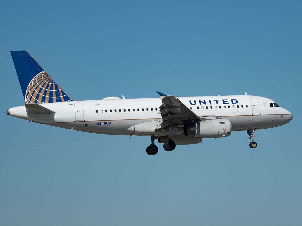 United Airlines Airbus A319-131 (N849UA) at Miami International Airport