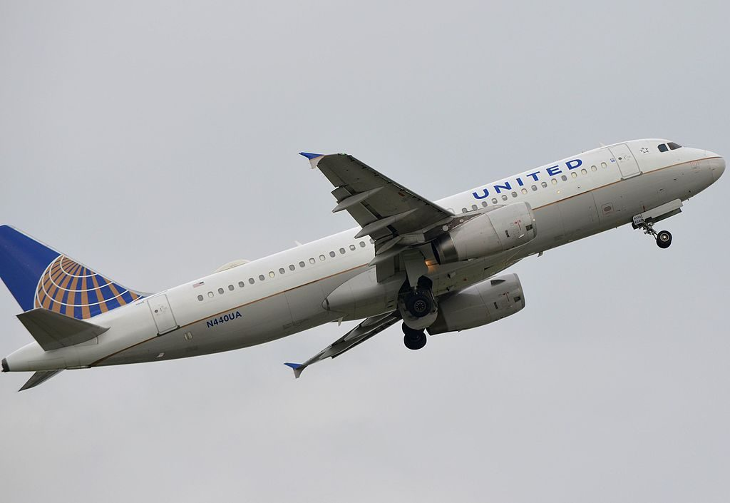 United Airlines Airbus A320-232; N440UA @PHL Philadelphia International Airport‎
