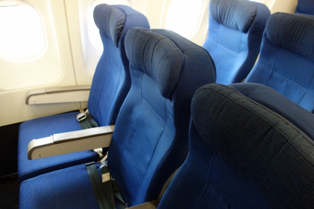 United Airlines Fleet Airbus A319-100 Economy Class Cabin Seats photos