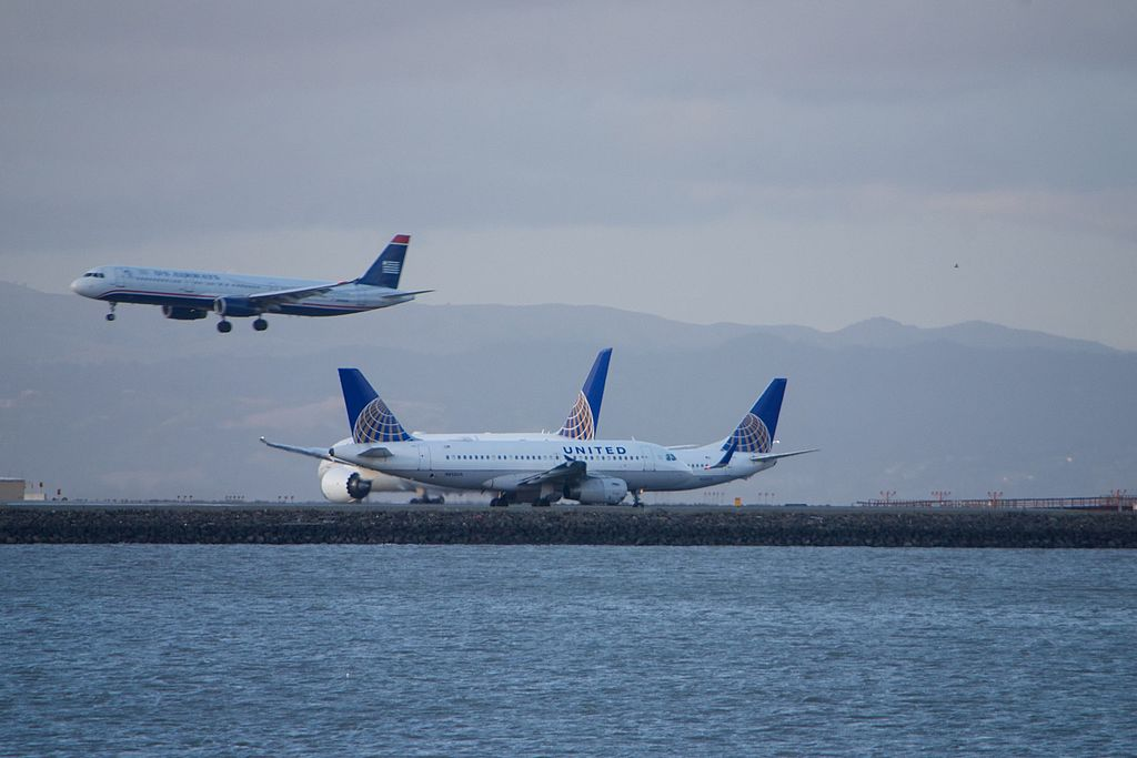 United Airlines Fleet Airbus A319 N815UA at San Francisco International Airport
