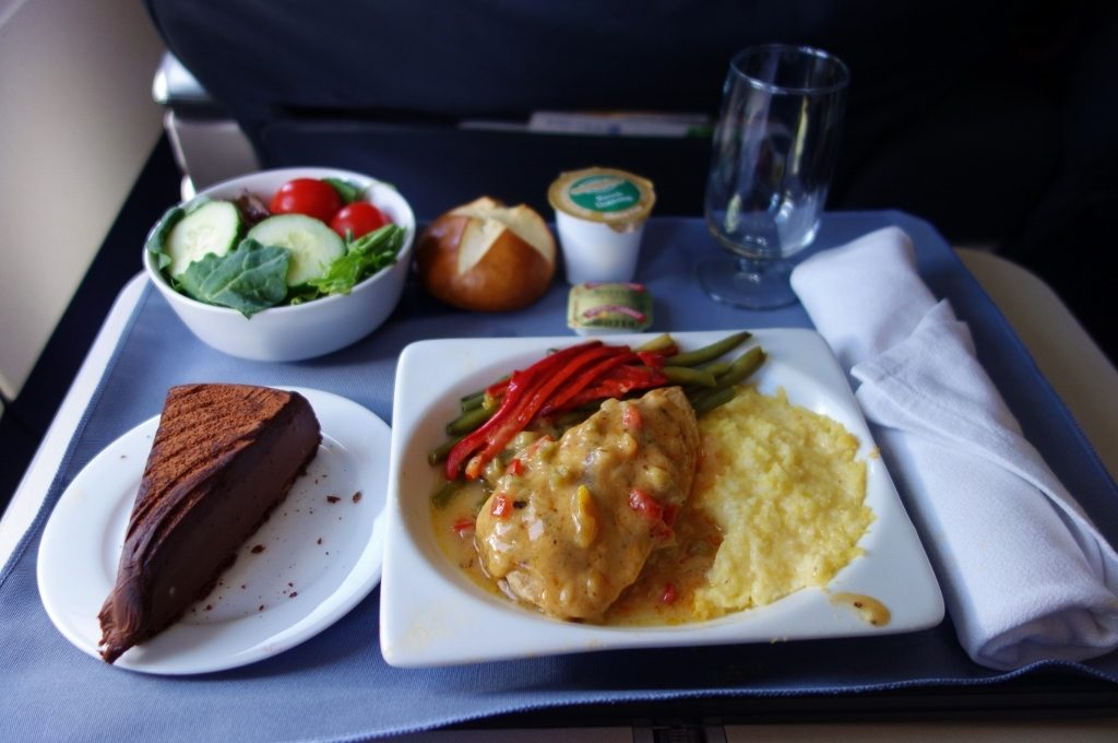 United Airlines Fleet Airbus A320-200 Business Class:Domestic First:United First inflight amenities meal:food services