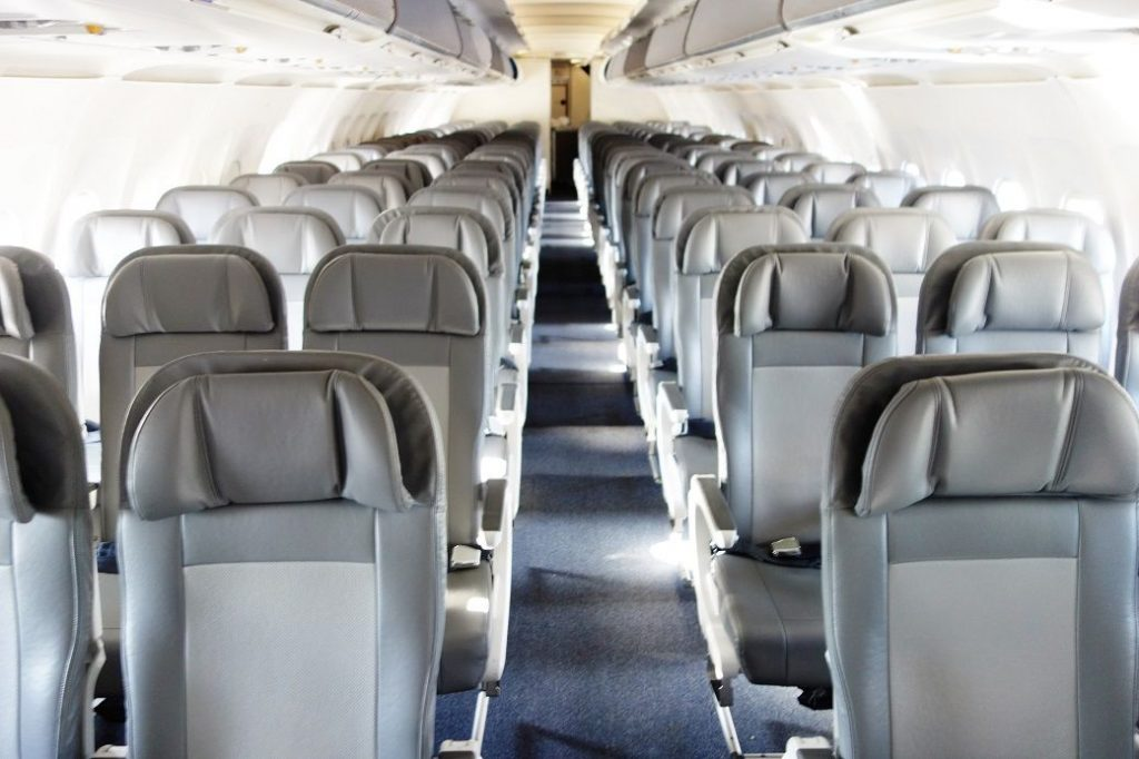 United Airlines Fleet Airbus A320-200 Premium Eco:Economy Plus Cabin Interior and Seats Layout Configuration