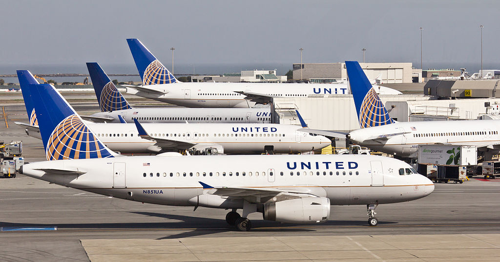 United Airlines - N851UA -Airbus A319-131 at San Francisco International Airport