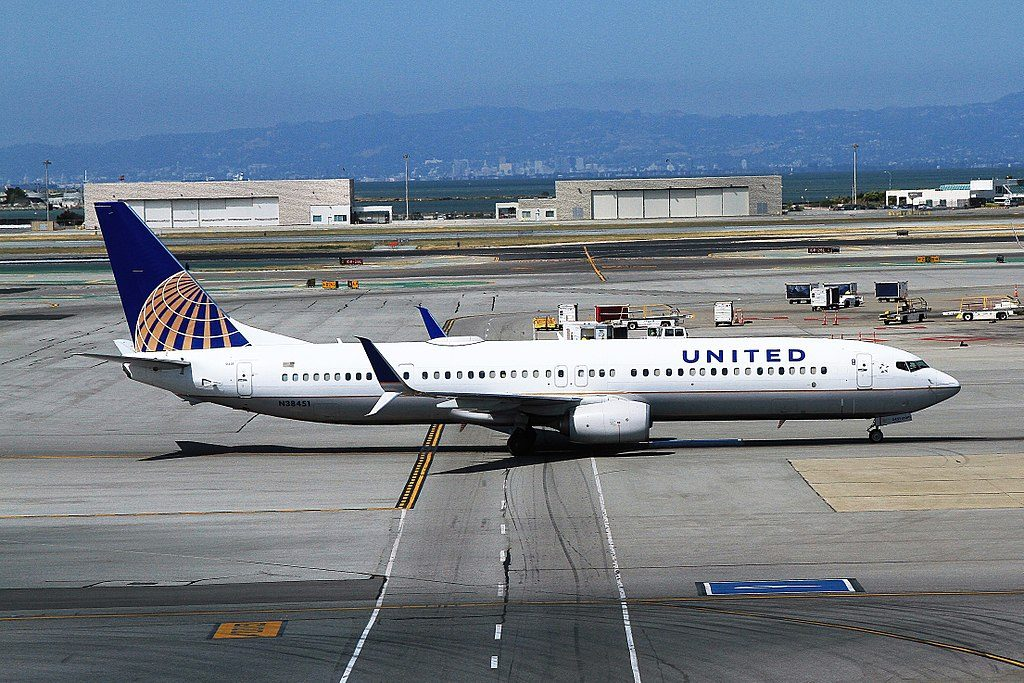 Boeing 737-924ER cn:serial number- 31646:3990 United Airlines Fleet N38451 Taxiing at SFO