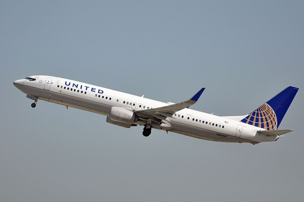 Boeing 737-924(ER) cn:serial number- 31650:3924 United Airlines Fleet 2012 to date as N36447