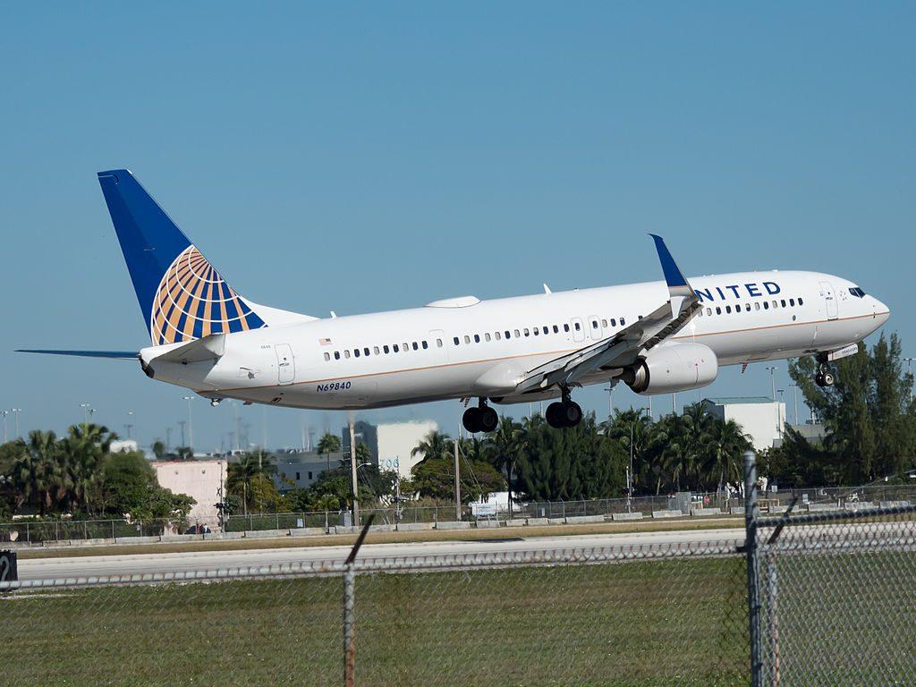 Boeing 737-924(ER) cn:serial number- 42181:5246 United Airlines Fleet N69840 at Miami International Airport