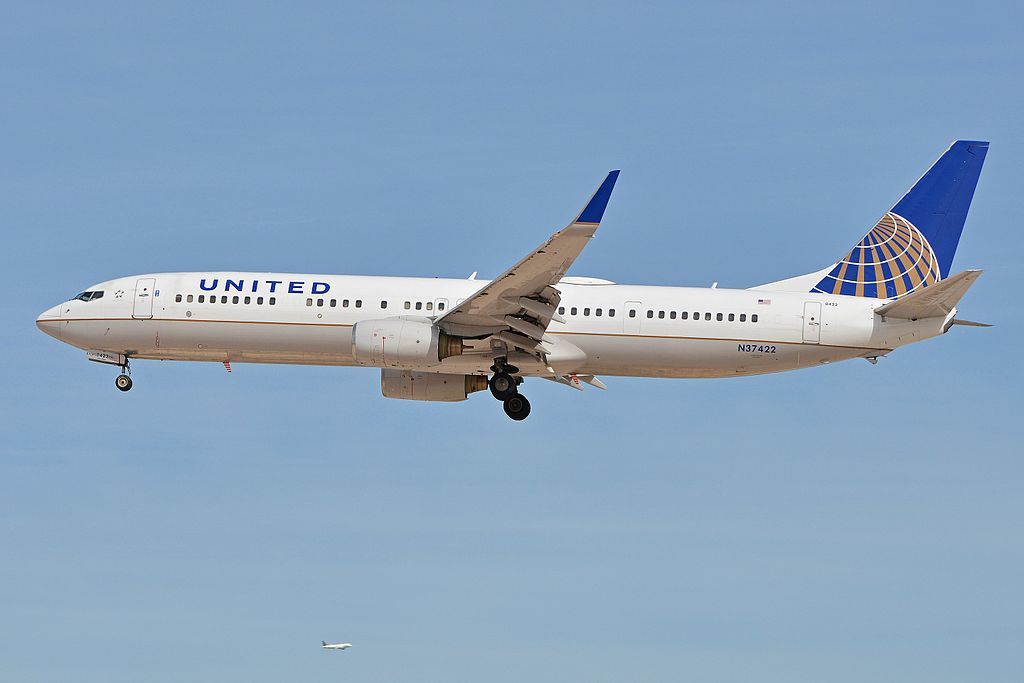 Boeing 737-924ER(w) 'N37422' United Airlines Fleet c:n 31620, l:n 2614. Built 2005. Seen arriving on flight UAL1648 from Washington. McCarran International Airport, Las Vegas, NV, USA