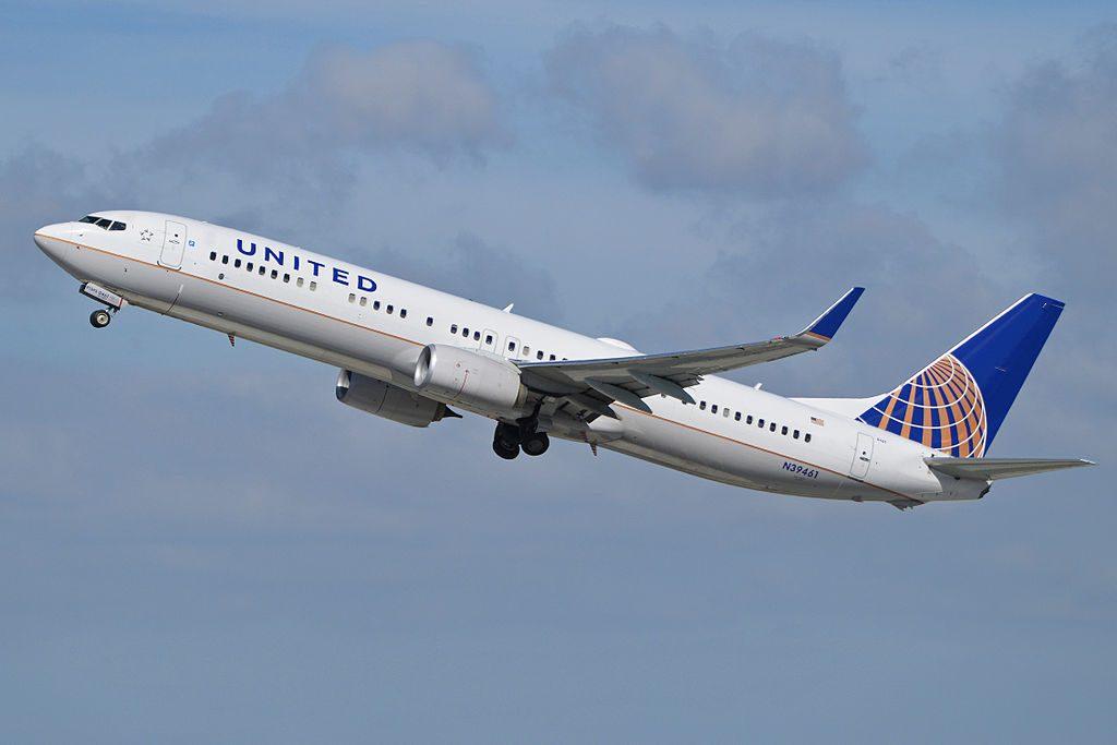 Boeing 737-924ER(w) 'N39461' United Airlines c:n 37201, l:n 4230. Built 2012. Seen departing LAX