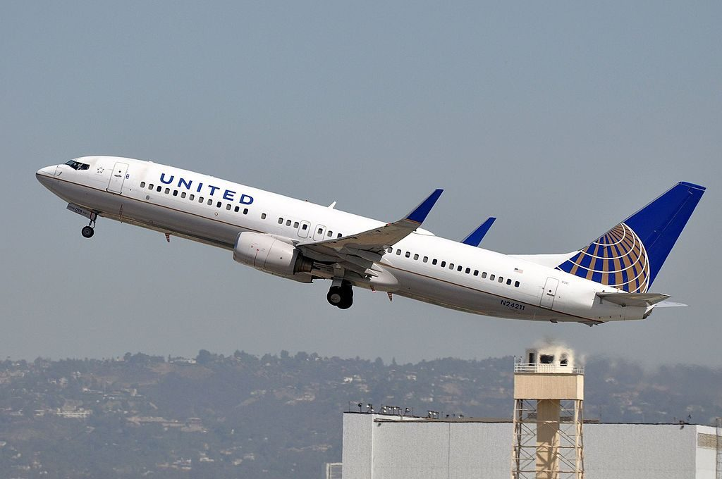 MSN 28771 LN 58 B737-824 : 737 : 737-800 UNITED AIRLINES LAX AIRPORT EX CONTINENTAL AIRLINES