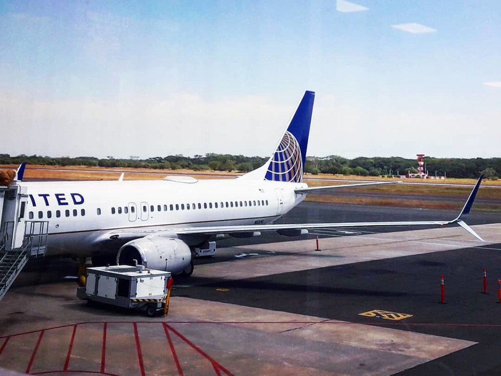 N11206 United Airlines Aircraft Fleet Boeing 737-824 C-N 30578 at Monsenor Oscar Arnulfo Romero International Airport