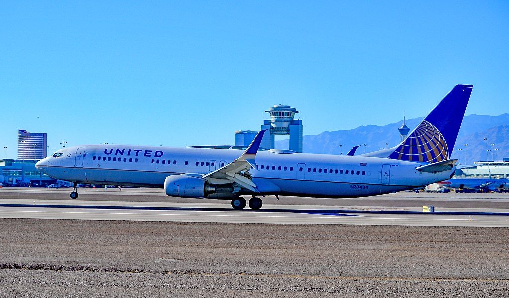 N37434 United Airlines 2009 Boeing 737-924(ER) - cn 33528 - 2891 Las Vegas - McCarran International (LAS : KLAS) USA - Nevada