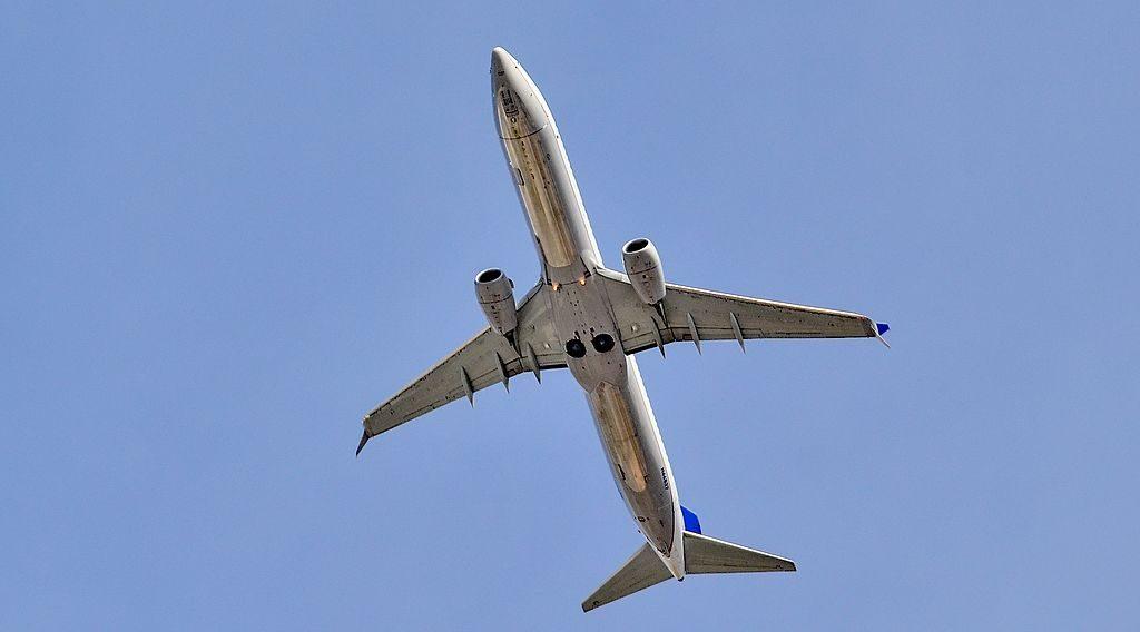 N66837 United Airlines Fleet Boeing 737-924(ER) serial 60122 - 5168 Abort Landing Las Vegas - McCarran International Airport (LAS : KLAS) USA - Nevada