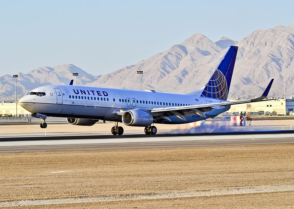N77295 United Airlines Boeing 737-824 (cn 34001-1779) Las Vegas - McCarran International (LAS : KLAS) USA - Nevada