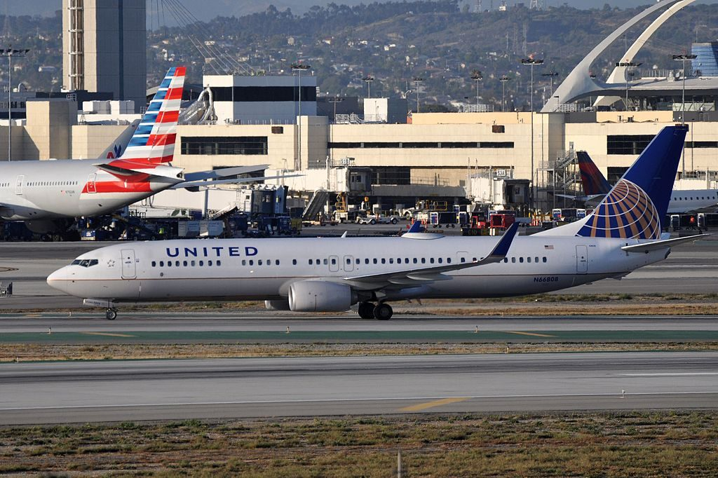 United Airlines Aircraft Fleet Boeing 737-924(ER), N66808 - LAX