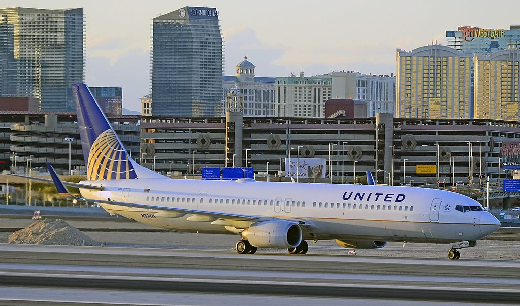 United Airlines Boeing 737-924-ER N39415 (cn 32826-2516) Las Vegas - McCarran International (LAS : KLAS) USA - Nevada