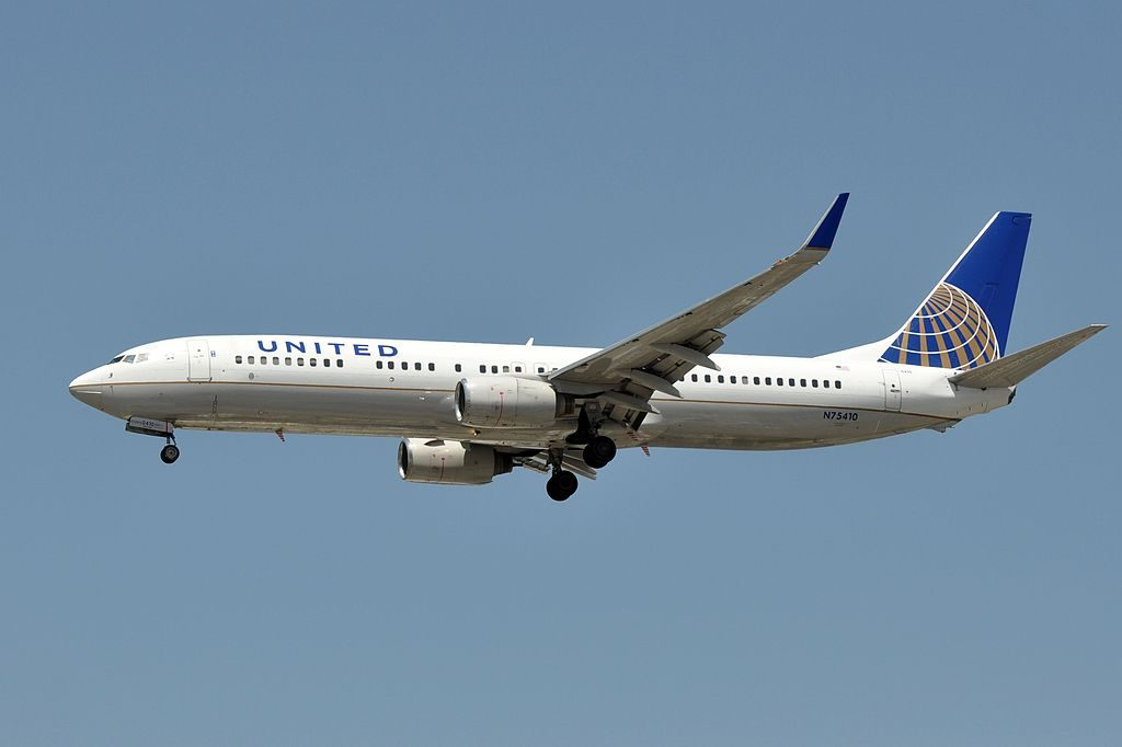 United Airlines, Boeing 737-924(WL), N75410 - LAX