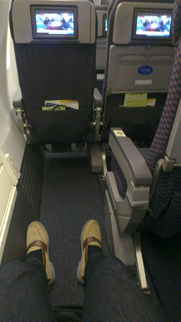 United Airlines Fleet Boeing 737-700 Premium Economy:Economy Plus Cabin Extra legroom
