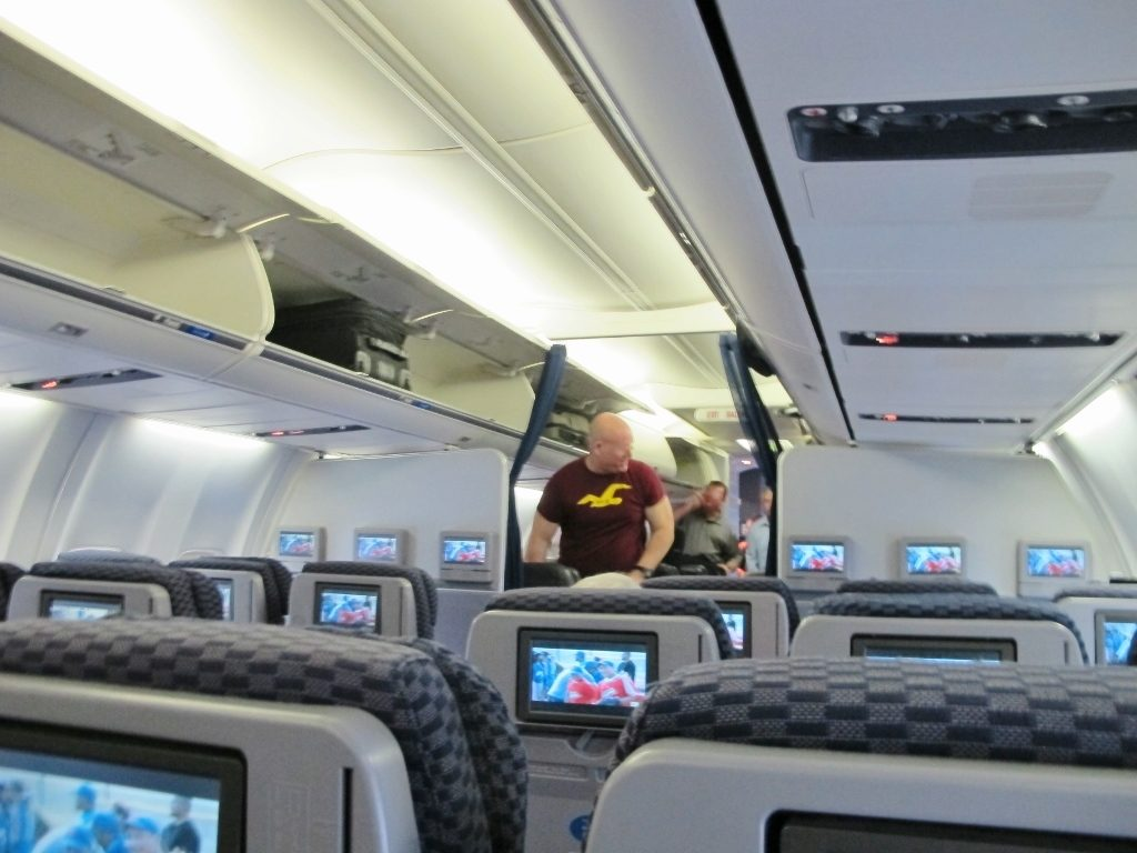 United Airlines Fleet Boeing 737-800 Premium Eco:Economy Plus Cabin Interior and Seats Configuration