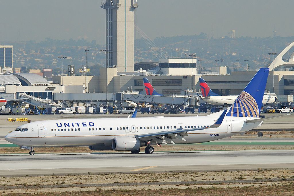 United Airlines Fleet Boeing 737-900ER; N37419 @LAX