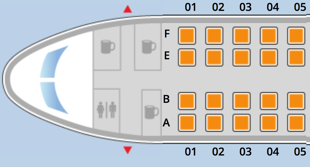 United Airlines Fleet Boeing 737 Max 9 Aircraft Seating Chart and Seat maps First-Class Seats to Pick