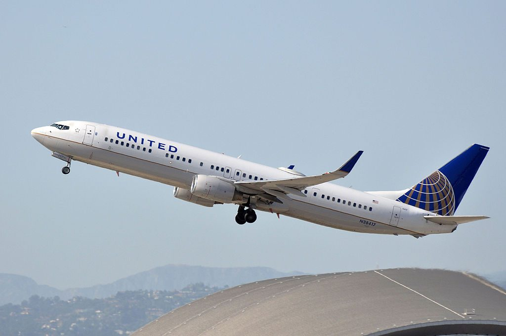 United Airlines Fleet Narrow Body Aircraft Boeing 737-924(ER)(WL), N38417 - LAX