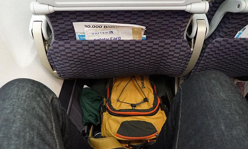 United Airlines Aircraft Fleet Boeing 757-200 Economy Plus : Premium Economy Cabin Seats Pitch Legroom Photos