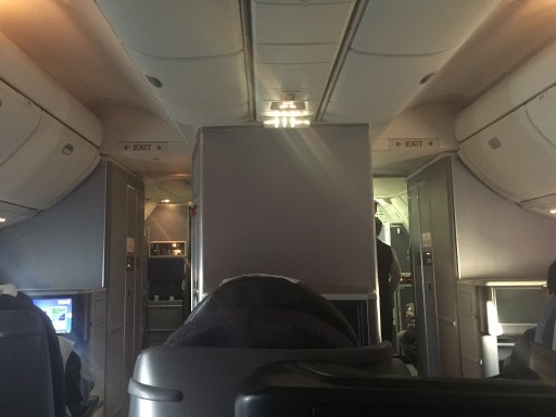 United Airlines Aircraft Fleet Boeing 767 300ER Polaris FirstBusiness Class Cabin Inflight Inside Cabin Photos