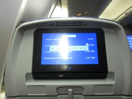 United Airlines Aircraft Fleet Boeing 767 300ER Premium Eco Economy Plus Cabin Seats 9 PTV screen with HD resulotion