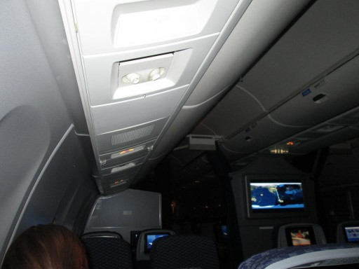 United Airlines Aircraft Fleet Boeing 767 300ER Premium Eco Economy Plus Inflight Cabin Inside View
