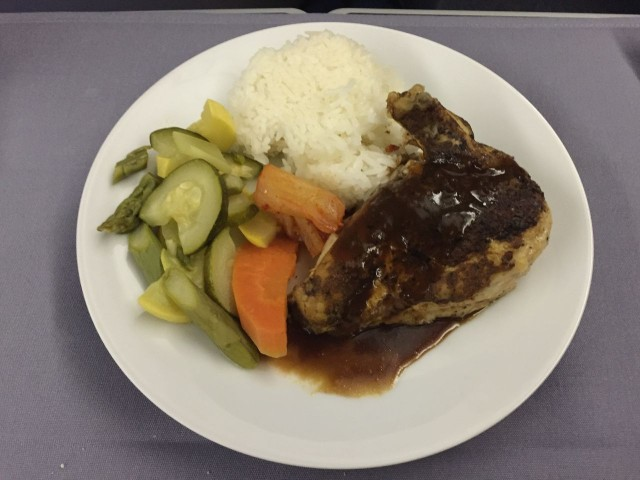 United Airlines Aircraft Fleet Boeing 777 200 BusinessFirst Class Cabin Inflight Amenities Meal Food Services Main Course Menu