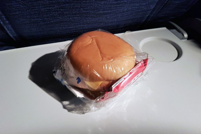 United Airlines Aircraft Fleet Boeing 777 200ER Economy Class Cabin inflight snackbag services