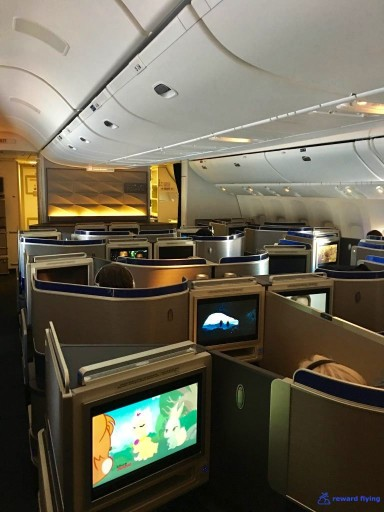 United Airlines Aircraft Fleet Boeing 777 300ER Polaris Business Class Cabin Interior Design and Seats Layout Configuration3 @rewardflying