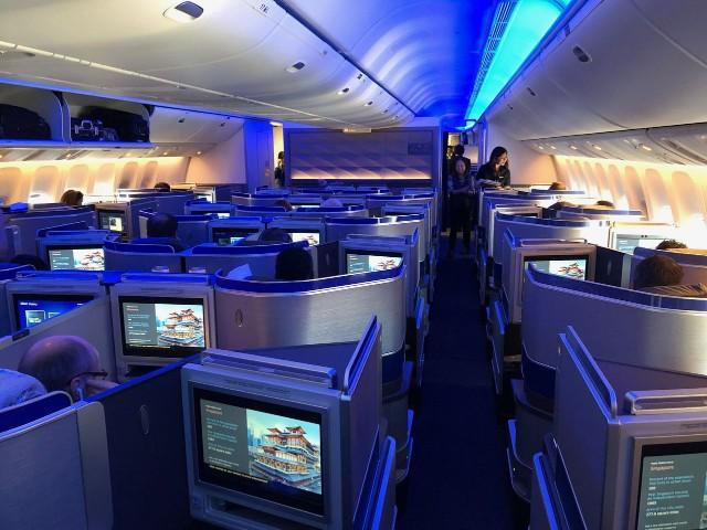 United Airlines Aircraft Fleet Boeing 777 300ER Polaris Cabin Photos
