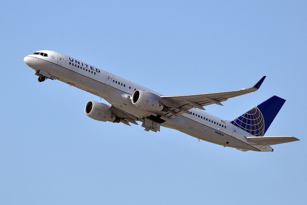 United Airlines Aircraft Fleet N598UA Boeing 757-222(wl) cn:serial number- 28751:844 departure LAX