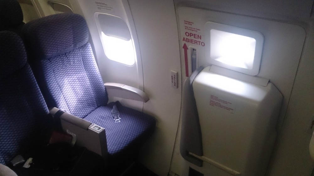 United Airlines Aircraft Fleet Narrow Body Boeing 757 300 Economy Plus Cabin Exit Row Seats Photos