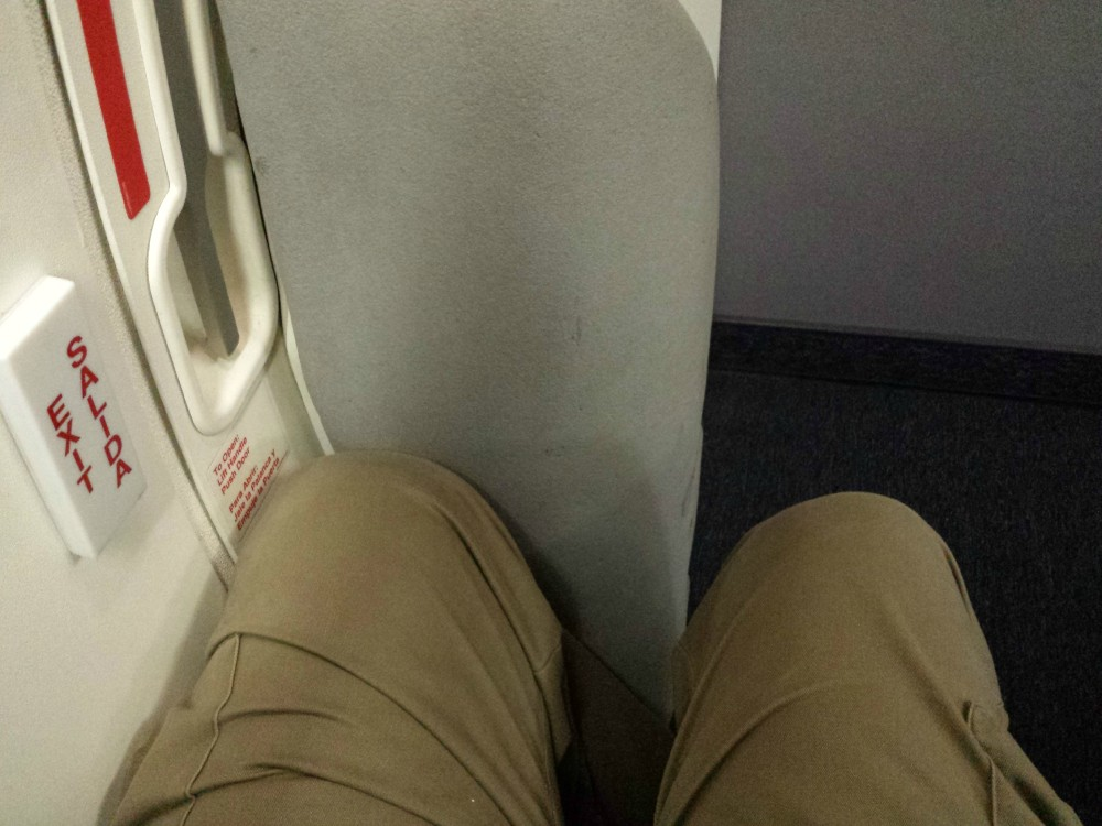 United Airlines Aircraft Fleet Narrow Body Boeing 757 300 Economy Plus Cabin Exit Row Seats Pitch Legroom Photos