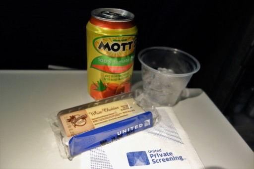 United Airlines Fleet Widebody Aircraft Boeing 777 200 Economy Class Cabin Inflight Amenities snacks and drinks services