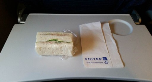 United Airlines Widebody Aircraft Boeing 777 200ER Economy Class Cabin inflight amenities snacks services