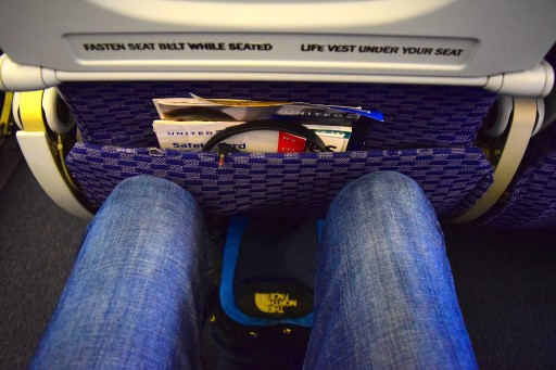 United Airlines Widebody Aircraft Fleet Boeing 767 400ER Standard Economy Class Cabin Seats Pitch Legroom photos