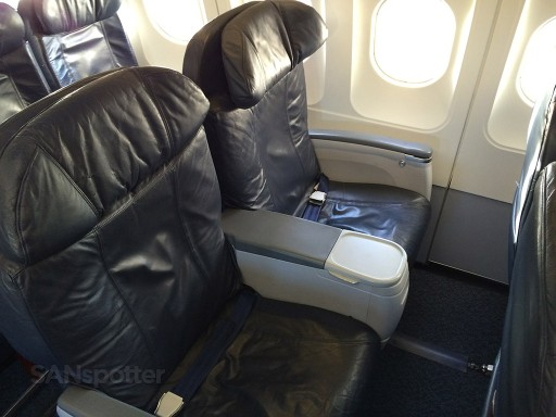 Airbus A319 100 Spirit Airlines Premium Eco Big Front Seat Photos @SANspotter