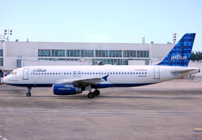 Airbus A320 232 N599JB JetBlue Airways If The Blue Fits... at Luis Muñoz Marín International Airport