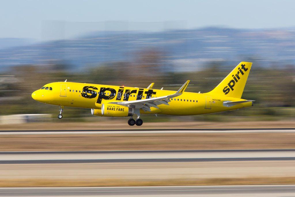 Airbus A320 232SL Spirit Airlines Aircraft Fleet F WZMK N650NK MSN 7724