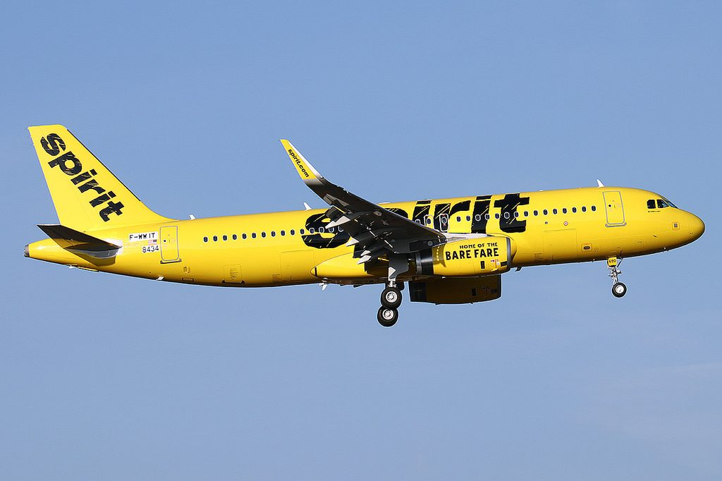 Airbus A320 232WL Spirit Airlines N690NK sn 8434 Aircraft Photos