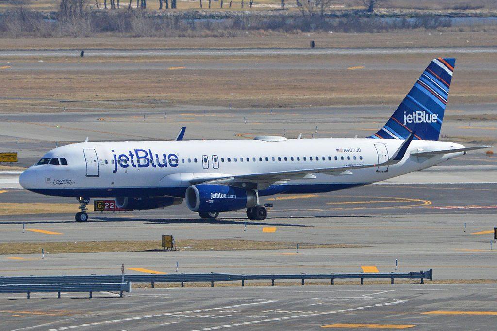 Airbus A320 232w N807JB JetBlue Airways 1. Fly JetBlue 2. Repeat step 1 arriving on flight JBU1404 from San Juan