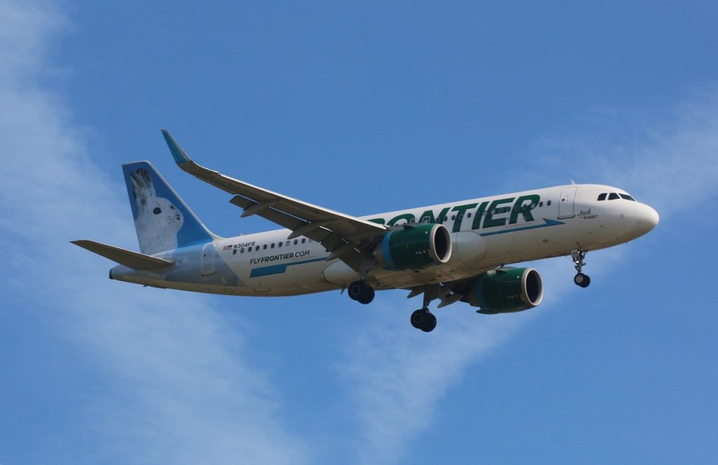 Airbus A320neo Frontier Airlines Fleet N304FR Jack the Rabbit narrow body aircraft photos